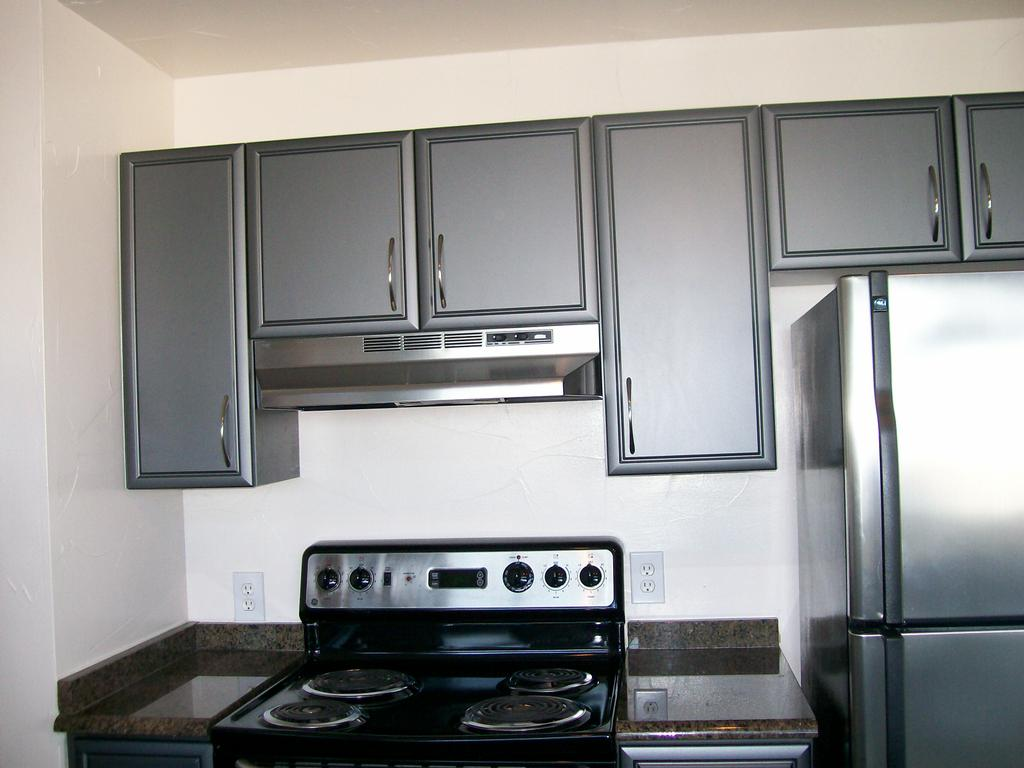 7 for Black and grey kitchen designs
