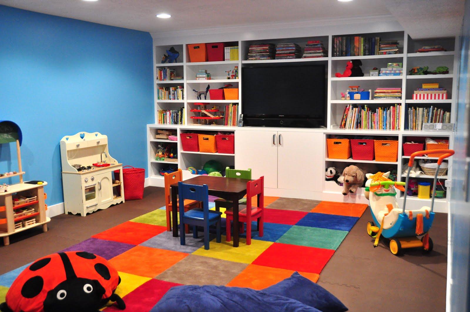 Игровая комната в домашних условиях