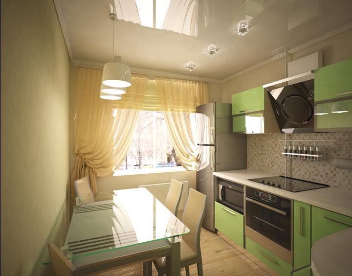 Дизайн кухни 7 кв.м в панельном доме