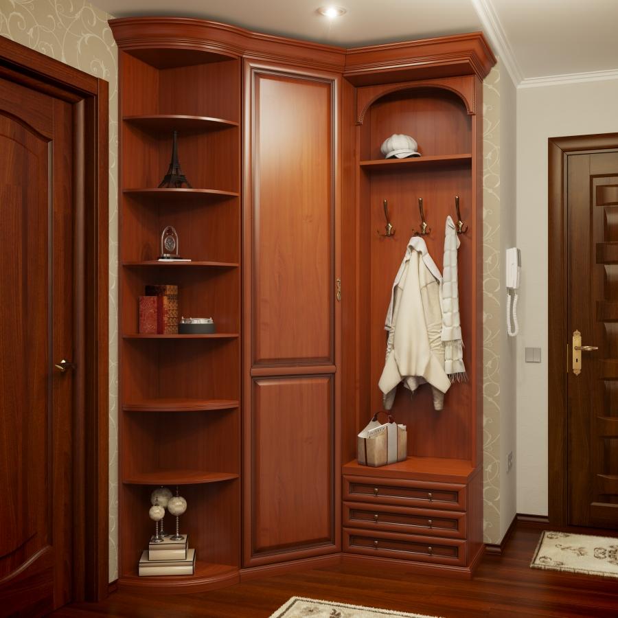 Угловые прихожие для маленьких коридоров. много фото!.