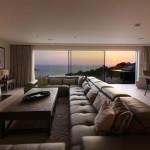 Гостиные с панорамными видами