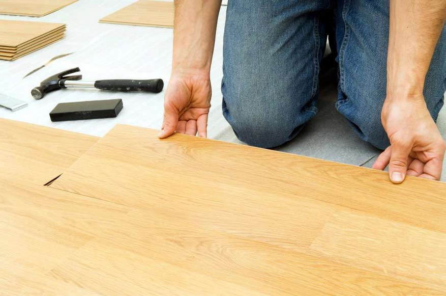 Настил ламината своими руками на деревянный