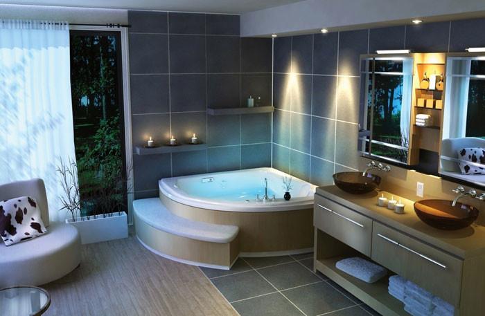 Ванная комната маленьких размеров